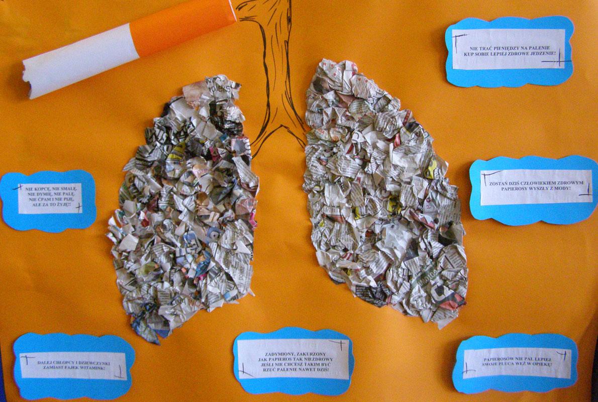 Szkolna Kampania Antynikotynowa Palenie Z Drugiej Ręki